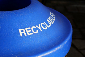 Write to your city councilor to put recycling bins next to city garbage cans