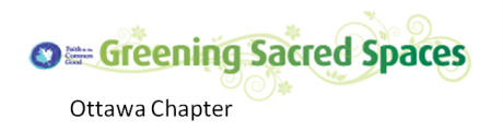 Greening Sacred Spaces Ottawa Chapter logo