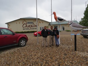 Chaplin Nature Centre with friends from Mexico