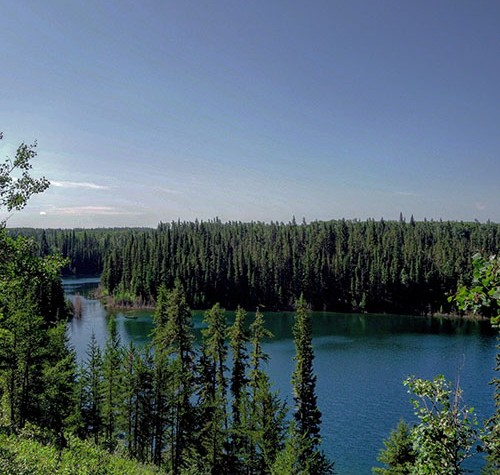 Image of Gem Lakes, Narrow Hills Provincial Park