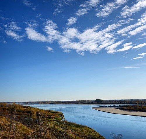 Image of the South Saskatchewan River Valley