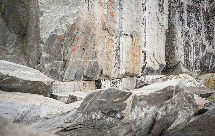 Image of Stanley Mission Pictographs