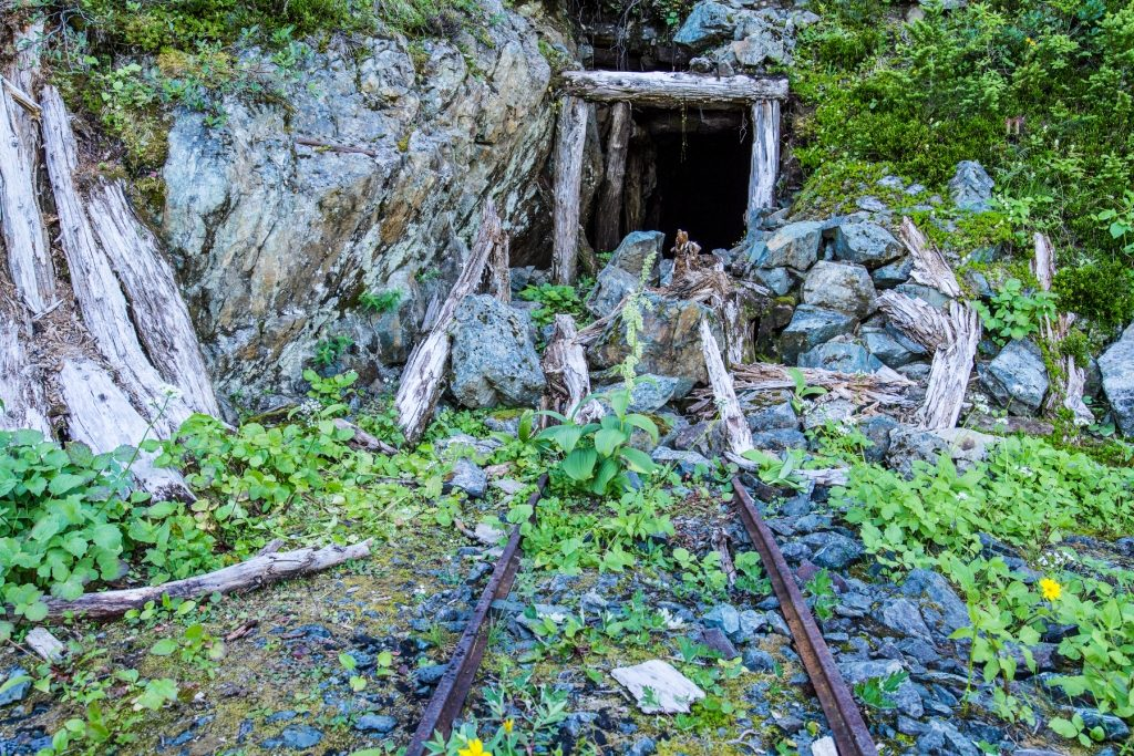 Image of an old mine