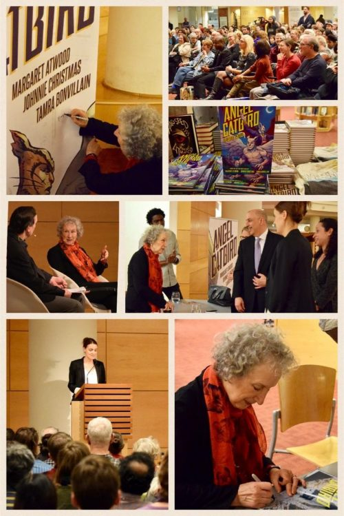 Image of Margaret Atwood Toronto Reference Library Book Launch