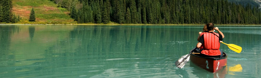 Image of emerald lake