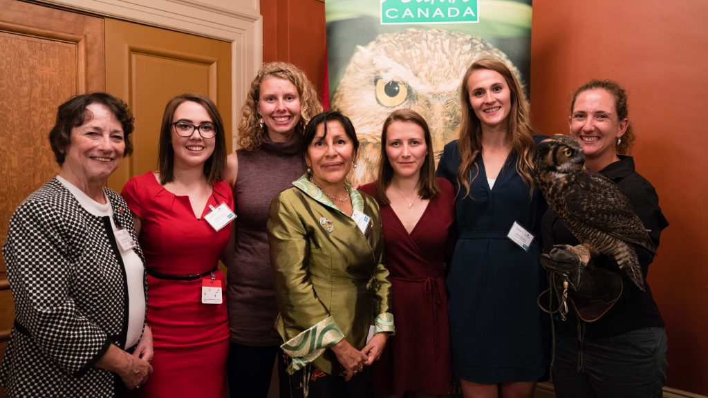 Image of Women for Nature photo by Senate of Canada
