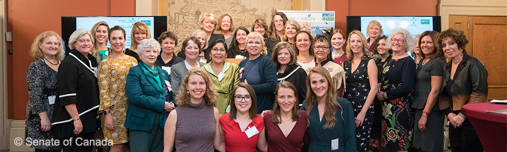 Women for Nature Member - credit to Senate of Canada