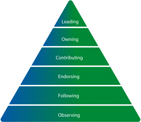 Image of Engagement Organizing Triangle