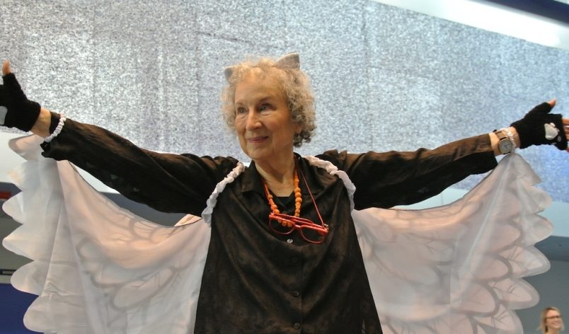 Margaret Atwood Wowed Audience at IOC